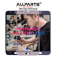 Warranty 5 5 PLS TFT LCD For SAMSUNG Galaxy J7 Prime Display G610 G610F Touch Screen