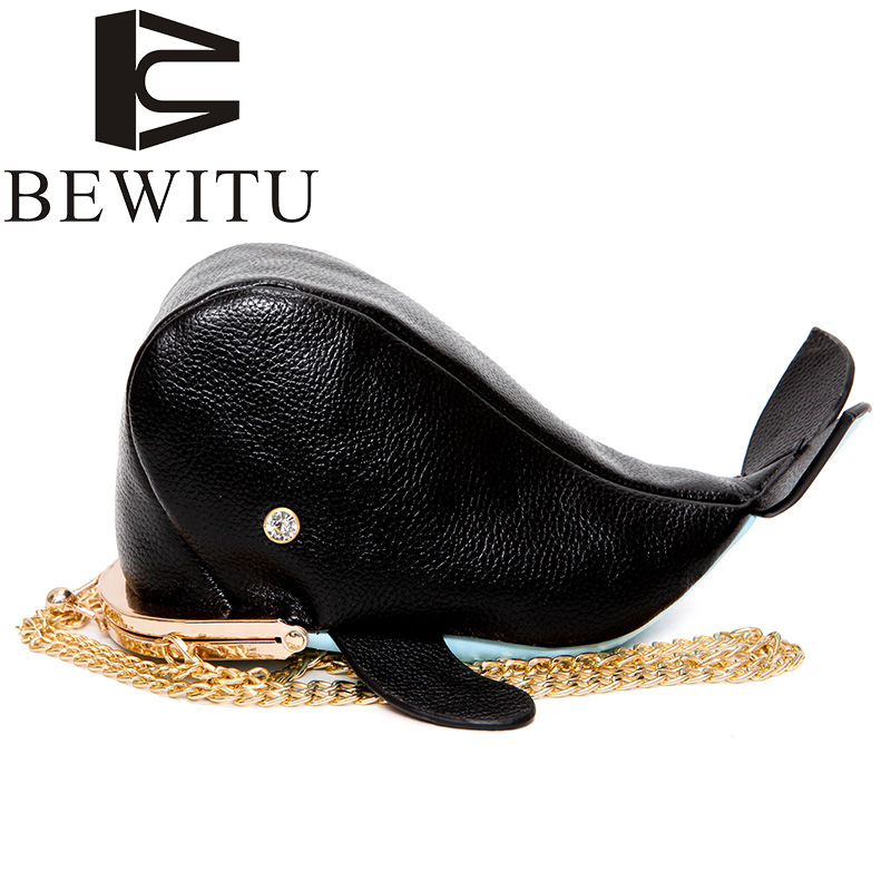 Women's Handbag Cute whale personality design pu leather chain purse ladies shoulder bag women's crossbody mini messenger bag  fun fashion personality disposable leather pu leather chain shoulder bag handbag female crossbody mini messenger bag purse