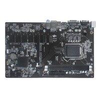 (Ship From RU) H81 BTC V1.01 Mining Board Mining Motherboard TB250 BTC CPU LGA 1150 DDR3 1066/ 1333/ 1600MHz Memory PCI Express