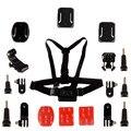 Gopro аксессуары go pro комплект крепление для gopro hero 4 3 2 1 Black Edition Нагрудный Ремень для Катания На Лыжах Велоспорт Езда LM4041