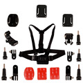 Gopro accessories set go pro kit mount for gopro hero 4 3 2 1 Black Edition Chest Belt for Skiing Cycling Riding LM4041