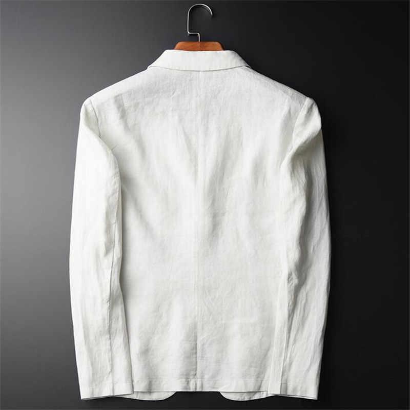 新しいカジュアルブレザー男性ファッションプラスサイズビジネススリムフィットジャケットブランドスーツブレザーコートボタンスーツ男性ジャケット用男性a3645