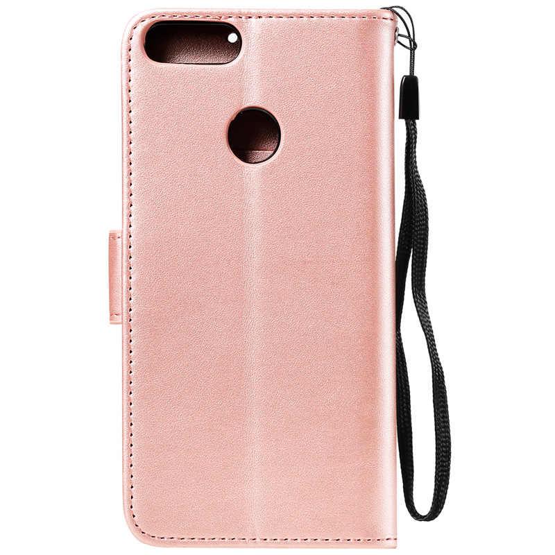 Yeni Baykuş cüzdan kılıf Kılıfı Için Huawei p30 P10 P20 Lite 2019 Kapak için Huawei P20 P30 Pro Için Deri Çanta huawei P Akıllı Z Durumda
