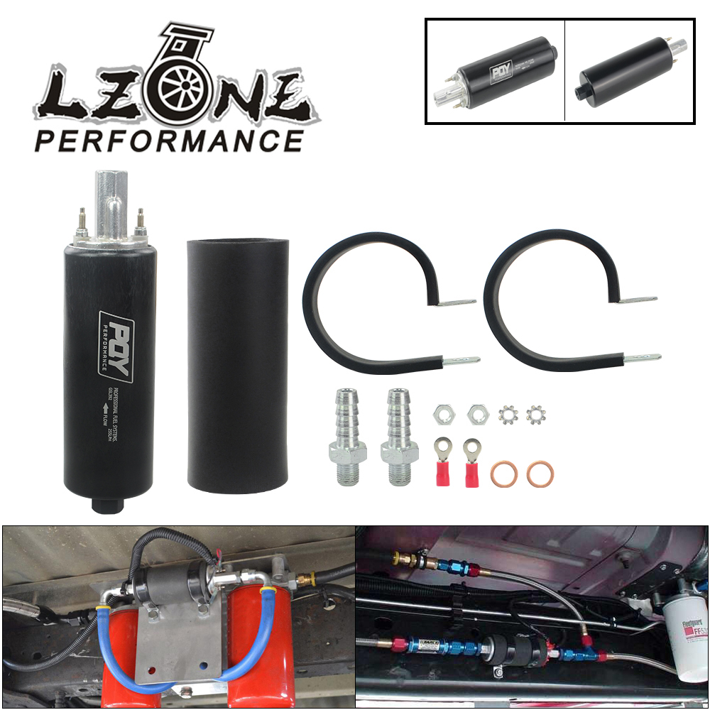 8 AN//ORB 40 Micron Stainless Steel Element Aluminum S-Max Fuel Filter Blue