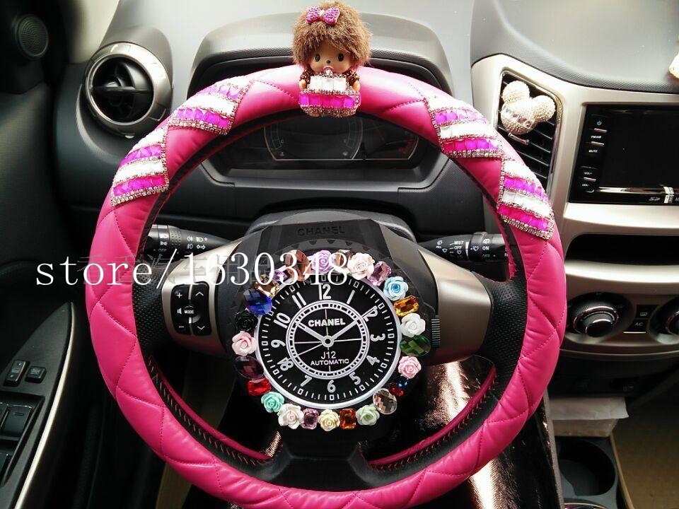 Super Women Steering Wheel Cover Car Accessories For Girl Decor Pdpeps Interior Chair Design Pdpepsorg
