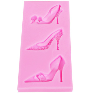 Туфли на высоком каблуке Byjunyeor F1141, УФ-силиконовая форма для шоколада, конфет, конфет, леденца, мягкая эпоксидная глина