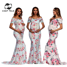 Maternity Dresses Maternity Clothes Pregnancy Dress printing Casual Floral  Pregnants clothing Comfortable Sundress Short sleeve hot sale polka dot maternity sweaters plus size slim casual spring floral maternity dresses korean pregnancy clothes premama