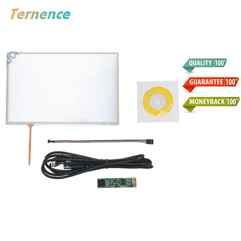 Considerate Skylarpu New 10.1 4 Wire Resistive Touch Panel Usb Controller Kit For B101evn07.0 Led Screen Touch Panel Glass Free Shipping Computer & Office Tablet Lcds & Panels