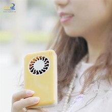 2016 New Rechargeable Li-battery Portable Travelling Fan Mini USB Cooling Computer Wind Desktop fan Free Shipping