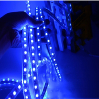 220V RGB LED Strip 5050 5m 10m 15m 20m Waterproof Rope Light For Outdoor Control Power