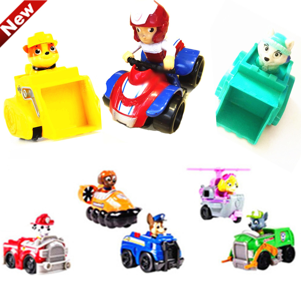 Hot patrulla canina pat patrouille toys puppy patrol vehicle model children toy for boy girl pat