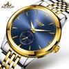 AESOP Mens Watches Top Brand Luxury Automatic Mechanical Watch Men Full Steel Business Waterproof Sport Watch