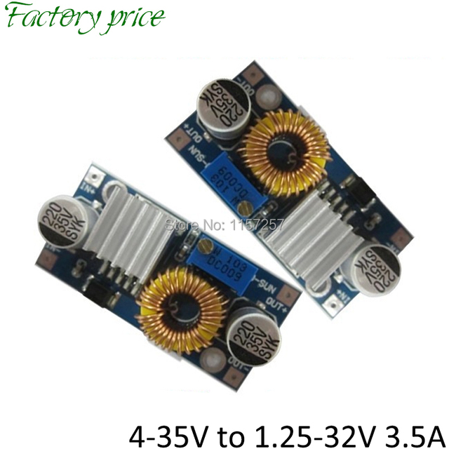 5pcs/lot DC DC step down converter step down converter 4A 50W 38V / 24V/ 22V/ 19V/ 12V to 5V / 9V / 12V fixed output voltage