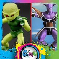 CMT InStock Demoniacal Fit Dragon Ball Z DBZ S.H.Figure SHF Type Ginyu Force Captain Or Saibamen Action Figure Anime Toys Figure