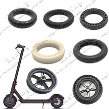 Xiaomi Mijia M365 Scooter Tyre Solid Hollow Tires Shock Absorber Non-Pneumatic Damping Rubber Tyres for m365 Bird