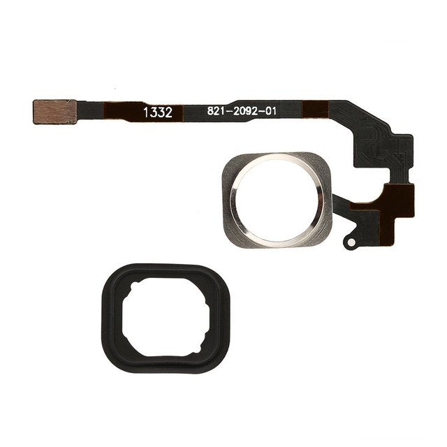 For iPhone 5S New Home Button Key Flex Cable Repair Part Replacement ...