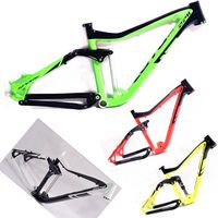 MTB Mountain Bike Frame 26/27 5er * 17 iInches Full Suspension Aluminum Frame Bicycle Frame parts