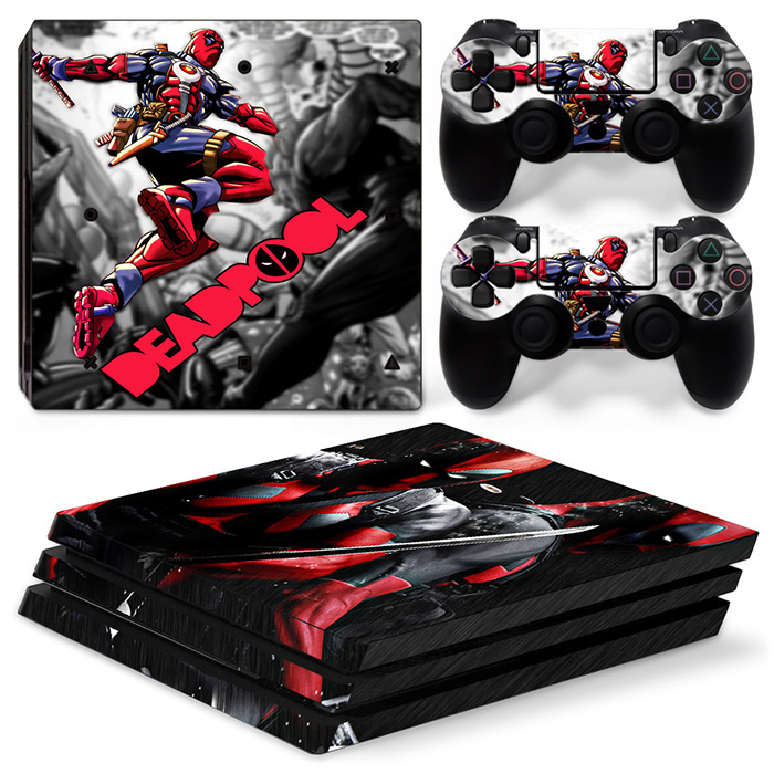 New arrival PROduct vinyl decals skin sticker for PS4 PRO games console ande controllers