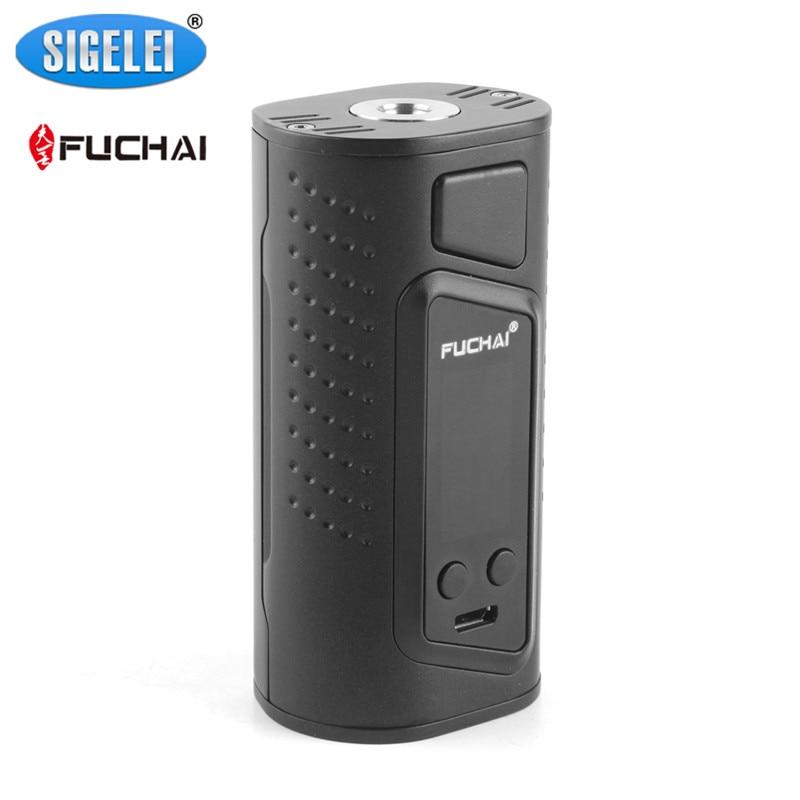 100% Genuine Sigelei Fuchai Duo3 Box Mod VW TC 175/255W Dual 3 18650 Battery Mod For 510 Thread Atomizers бокс мод sigelei fuchai 213w tc violet силик чехол