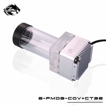Bykski DDC Combo Pump + Reservoir Maximum Flow Lift 6 Meters 600L/H Compatible DDC Cover Radiator Water Tank Length 146mm