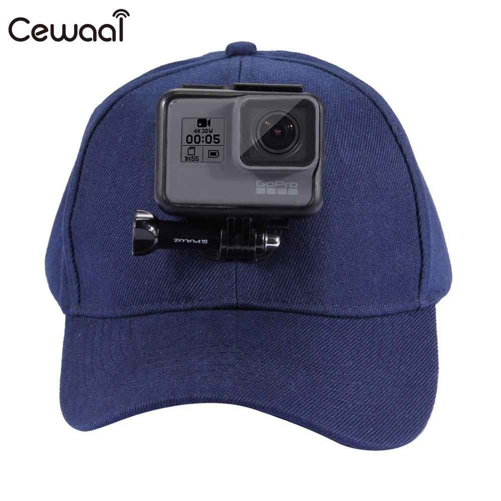 ee576997750 ... Helmet Sports DV Hat Action Camera Hat Baseball Cap Panoramic Head Mount  for GOPRO Ultra