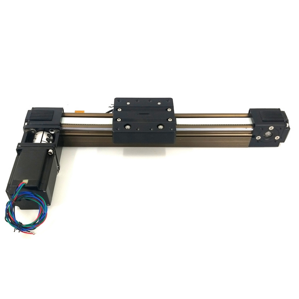 Module d'actionneur de glissière d'étape de mouvement de rail de guidage linéaire de CNC nema 23 kit de bras robotique pas à pas mouvement de routeur de tige 45 courroie synchrone