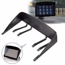 Black 7 inch Navigation Car GPS Sunshade Anti Glare Accessories Anti Glare Sun Shield Gps Sunshine Umbrella Navigator
