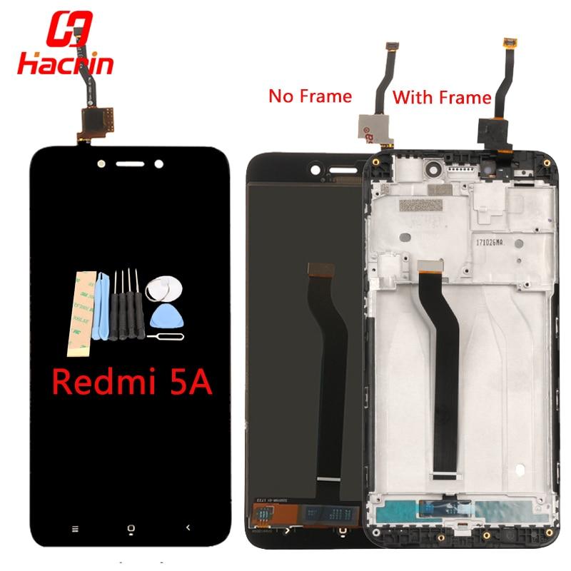 Xiaomi Redmi 5A Display LCD Bom Teste Montagem Digitador Da Tela de Toque de Substituição para Xiaomi Redmi 5A Versão Global Hacrin