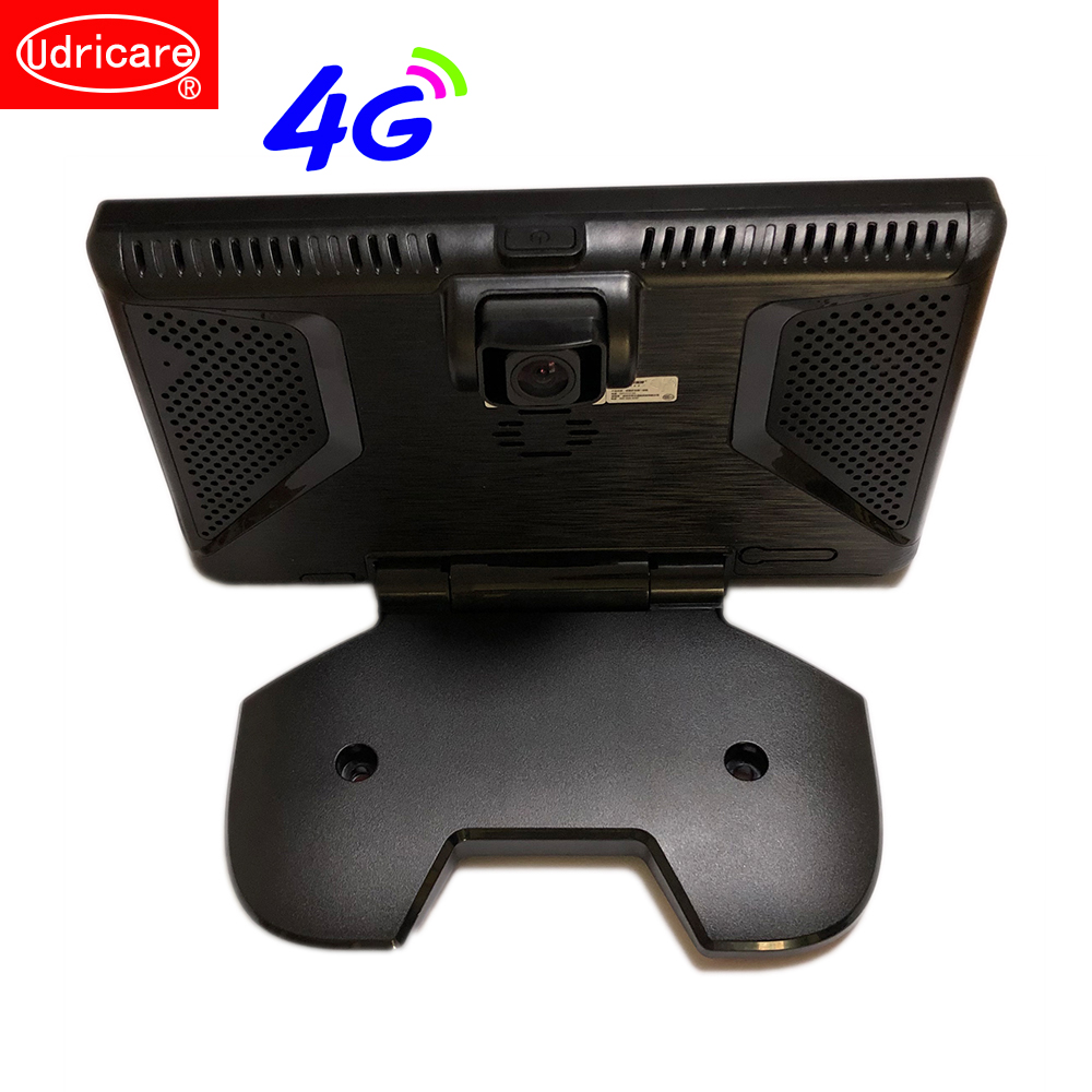 Udricare 9 дюймов Android Bluetooth телефон автомобиль грузовик автобус gps навигации wi fi Full HD 1080 P DVR двойной объектив заднего вида камера DVR gps