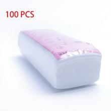 100 шт, Нетканая ткань для удаления волос, восковые Бумажные рулоны, высокое качество, эпилятор для удаления волос, восковая полоска, рулон бумаги