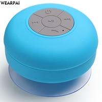 Wearpai Portable Mini Mushroom Wireless Bluetooth Speaker Waterproof Shower Stereo