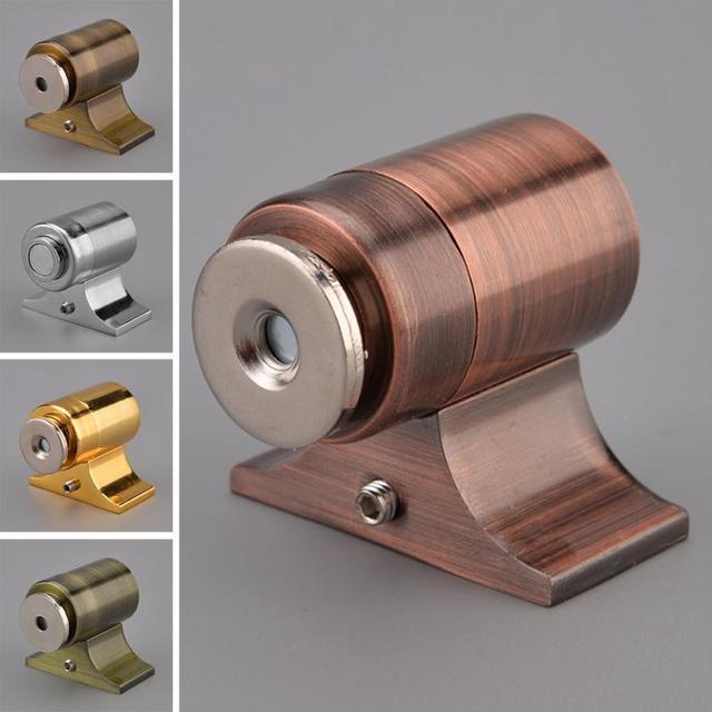 New Alloy Invisible Latch Cabinet Door Magnetic Catch Latch In Door