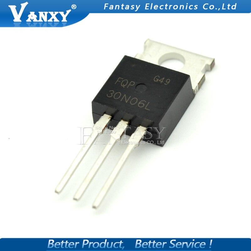 10PCS FQP30N06 FQP50N06 STP55NF06 STP65NF06 STP75NF75 LM317T IRF3205 Transistor TO-220 TO220 30N06 50N06 55NF06 65NF06 75NF75