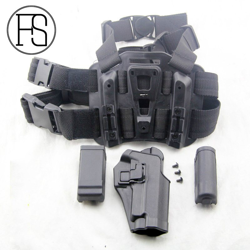 CQC Holster Set W/Plataforma SIG P226 Revista Pouch Airsoft Wargame Combate CS S