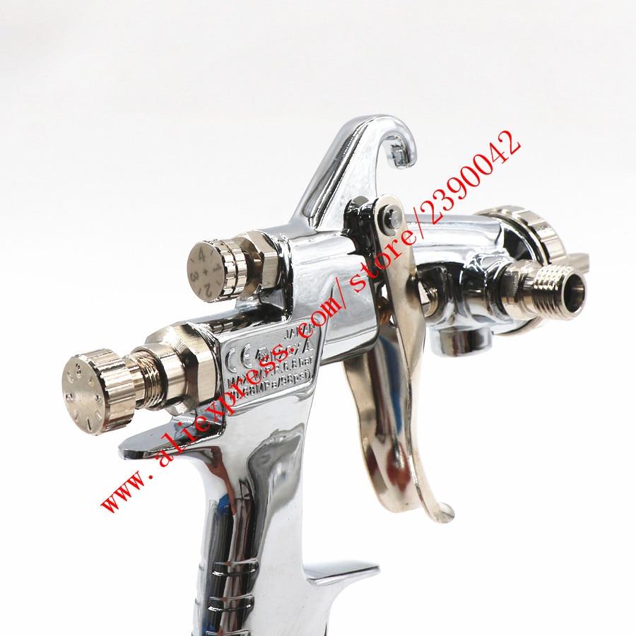 Image 5 - Original Import HVLP W101 134G Hand Manual Paint Spray Gun W 101 Spray Gun 0.8/1.0/1.3/1.5/1.8mm Furniture Car Paint Pistol-in Spray Guns from Tools on