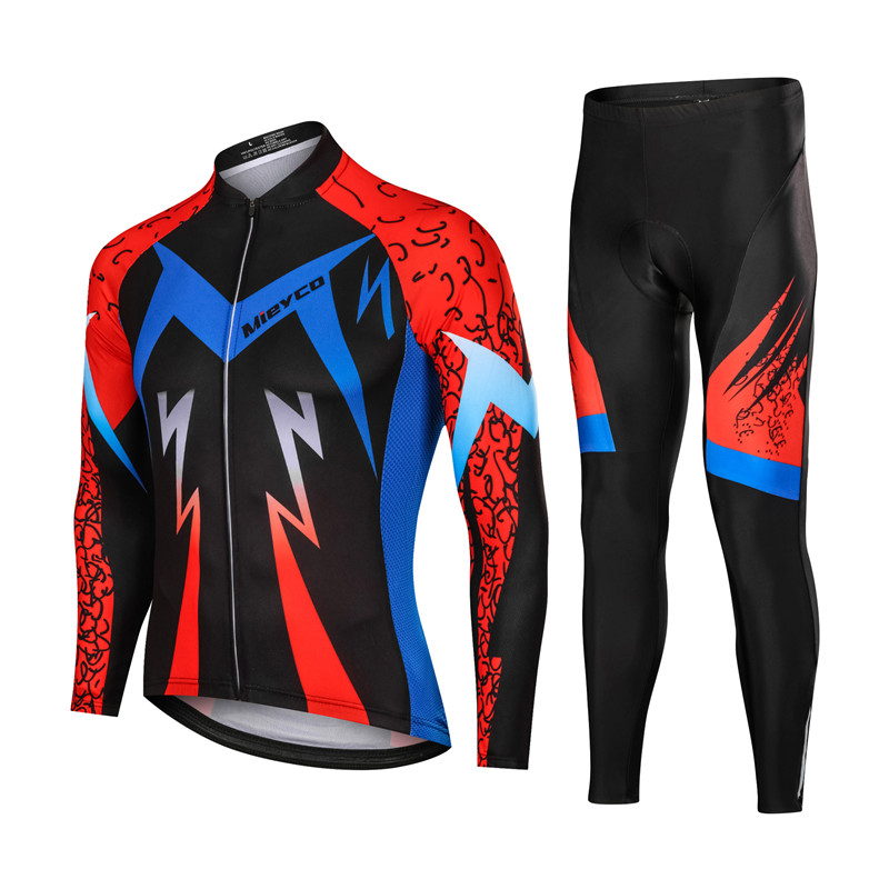 High Quality Men Long Sleeve Cycling Clothing Racing Sport Cycling Jersey Sets 3D Gel Padded mtb Bike Jersey Bicycle ApparelHigh Quality Men Long Sleeve Cycling Clothing Racing Sport Cycling Jersey Sets 3D Gel Padded mtb Bike Jersey Bicycle Apparel