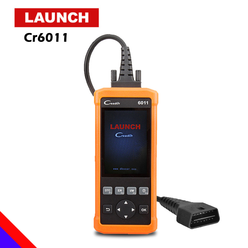 Launch CReader 6011 OBD2 EOBD Scanner ABS SRS Diagnostic Tool Car Engine Airbag Fault Code Reader Full OBD 2 Scan Diagnostics car diy scanner launch creader 519 obd2 eobd code reader scanner read vehicle information car diagnostic tool free update online