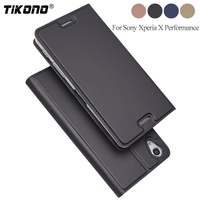 TIKONO Phone Case For Sony Xperia X Performance F8131 F8132 Case Luxury Wallet Flip Leather Cover