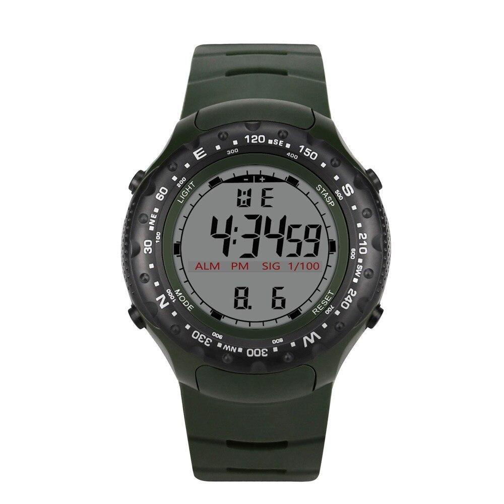 Men Analog Digital Military Army Sport LED Waterproof Wrist Watch Montre Reloj Clock Electronic Watch