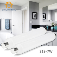LED S19 Linestra LINOLITE STRIPLINE Tube Mirror Table Desk Lamp 310mm 6W 220V 110v Warm Cool
