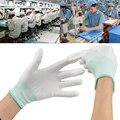 Envío gratis 3 pares antiestát seguridad ESD guantes universales electrónico de trabajo PC Computer antideslizante para protección de los dedos