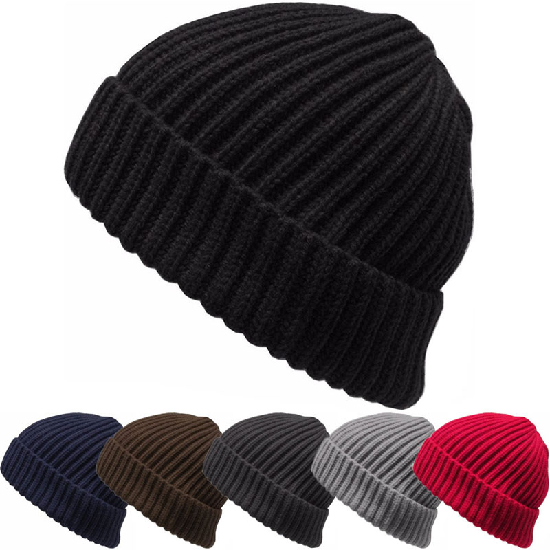 Baggy Beanie Knit Winter Hat Ski Slouchy Chic Hip-hop Cap Skull Men Women Unisex hat hot sale unisex winter plicate baggy beanie knit crochet ski hat cap