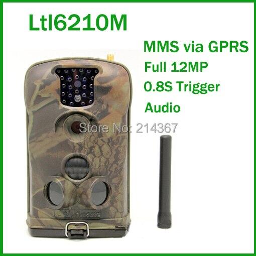 Ltl6210M HD 940nm Black IR Invisable GSM MMS GPRS Hunting Game Cameras Free ship arduino atmega328p gboard 800 direct factory gsm gprs sim800 quad band development board 7v 23v with gsm gprs bt module