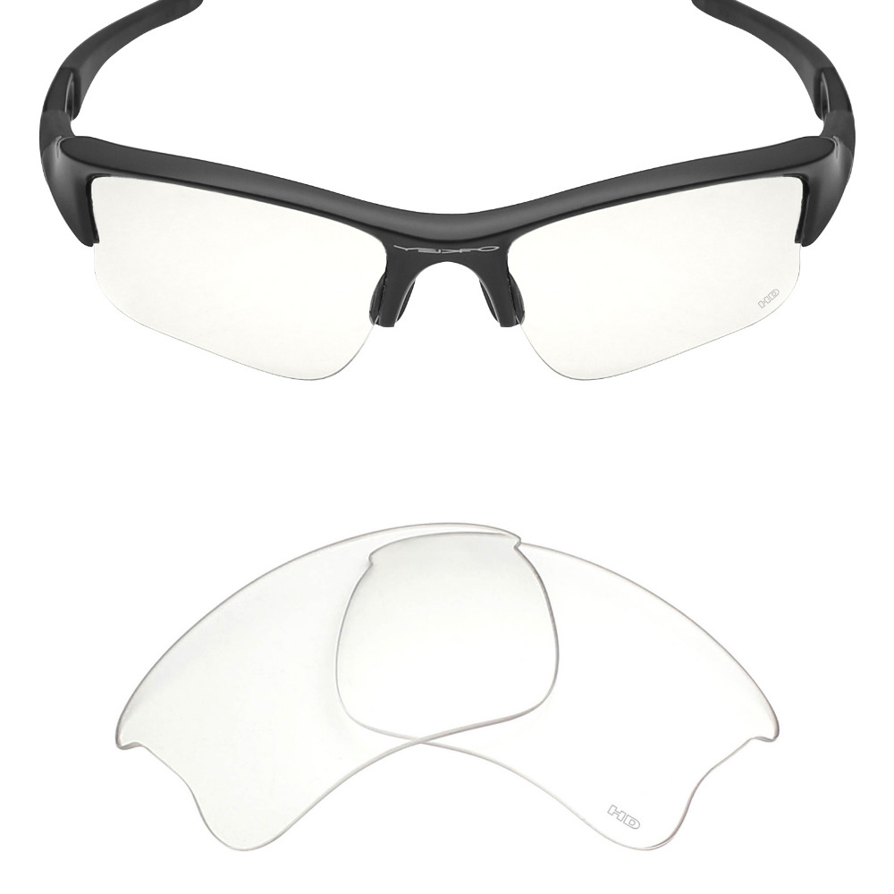 b8456eb25f4 Mryok+ Resist SeaWater Replacement Lenses for Oakley Flak Jacket XLJ  Sunglasses HD Clear-in Accessories from Apparel Accessories on  Aliexpress.com