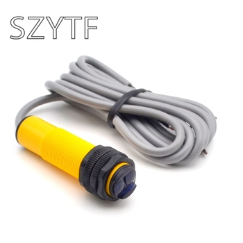 10 unids/lote E18-D80NK ajustable interruptor con Sensor infrarrojo 3-80cm _ interruptor con Sensor infrarrojo