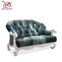 Современные в европейском и американском стиле высокого качества отскок губки 2 места диван гостиная хорошее качество мебель мягкая фланел