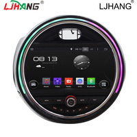 LJHANG 1 din Android car multimedia Player for BMW Mini Cooper 2015 2016 Car Radio WIFI Navi Auto Headunit Automotive RDS USB FM