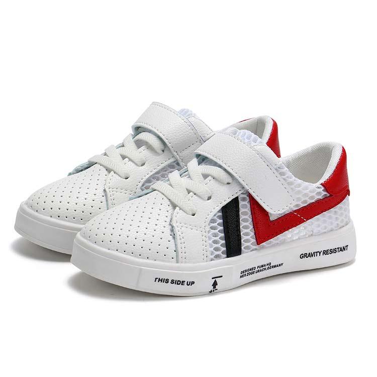 2017 Summer Fashion New Girls Mesh Shoes Boys Hook Sport Shoes School Shoes Size #6 Euro 26-36 Free Shipping