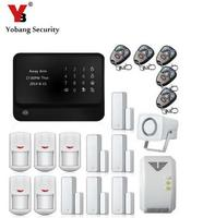 Free Shipping DHL App Controlled Wireless Wifi GSM Home Security Alarm System Wifi Gsm Alarm System