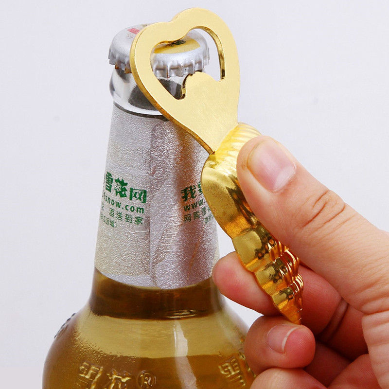 Wedding favors gift Beach series Conch Bottle opener Beer Bottle Opener New Arrival weeding souvenir 12pcs
